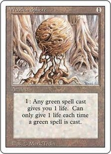 Magic the Gathering Revised Edition Single Card Uncommon Wooden Sphere