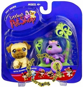 Littlest Pet Shop Pet Pairs Figures Dog & Spider