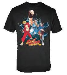 Street Fighter Adult T-Shirt Trio