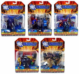 DC Universe Set of 5 Fighting Figures