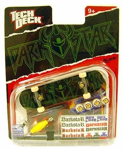 Tech Deck Single 96mm Skateboard Darkstar [Green & Black]