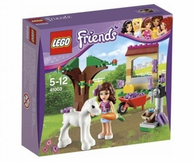 LEGO Friends Set #41003 Olivia's Newborn Foal