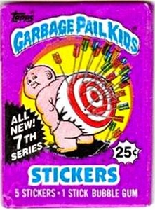 Topps Garbage Pail Kids Trading Cards Series 7 Wax Booster Pack
