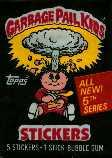Topps Garbage Pail Kids Trading Cards Series 5 Wax Booster Pack