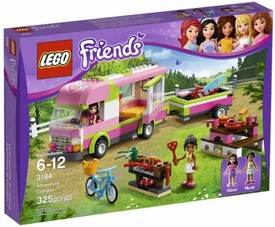 LEGO Friends Set #3184 Adventure Camper