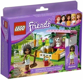 LEGO Friends Set #3938 Andrea's Bunny House
