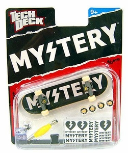 Tech Deck Single 96mm Skateboard Mystery [Black & White]