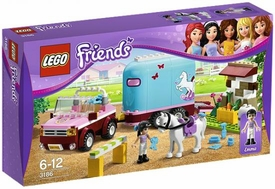 LEGO Friends Exclusive Set #3186 Emma's Horse Trailer