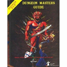 Advanced Dungeons & Dragons Vintage Book Hardcover Dungeon Master's Guide [Used Condition: Poor]