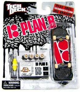 Tech Deck Single 96mm Skateboard Plan B [Ryan Sheckler Pink Logo] Hot!