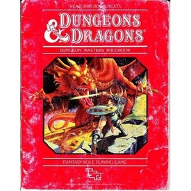 Dungeons & Dragons Vintage Book Softcover Dungeon Masters Rulebook [Used Condition: Fine]