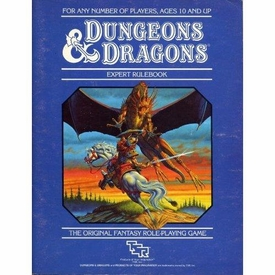 Dungeons & Dragons Vintage Book Softcover Expert Rulebook [Used Condition: Fine]