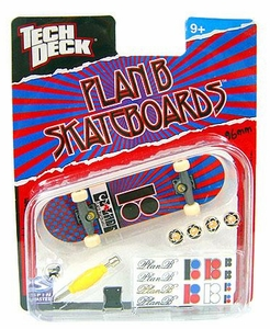 Tech Deck Single 96mm Skateboard Plan B [Red & Blue Design]