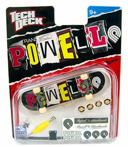 Tech Deck Single 96mm Skateboard Powell [Ransom Note Logo]
