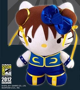 Street Fighter X Sanrio 2012 SDCC San Diego Comic Con Exclusive Plush Chun Li