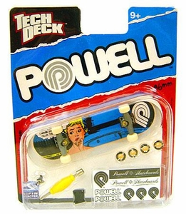 Tech Deck Single 96mm Skateboard Powell [Blue Pop Art Woman]