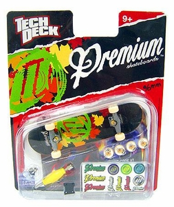 Tech Deck Single 96mm Skateboard Premium [Leaves]