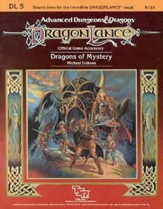 Advanced Dungeons & Dragons DragonLance Vintage Book Softcover DL5 Dragons of Mystery [Used Condition: Good]