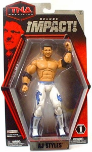 TNA Wrestling Deluxe Impact Series 1 Action Figure AJ Styles