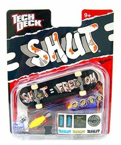 Tech Deck Single 96mm Skateboard SHUT [Shut = Freedom]