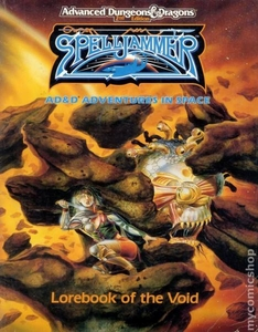 Advanced Dungeons & Dragons 2nd Edition Vintage Book Softcover SpellJammer: Lorebook of the Void [Used Condition: Fine]