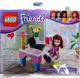 LEGO Friends Set #30102 Olivia's Desk [Bagged]