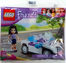 LEGO Friends Set #30103 Emma's Car [Bagged]