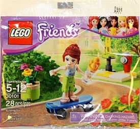 LEGO Friends Set #30101 Mia Skateboarding [Bagged]