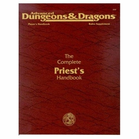 Advanced Dungeons & Dragons Vintage Book Softcover The Complete Priest's Handbook Rules Supplement 2113 [Used Condition: Fine]