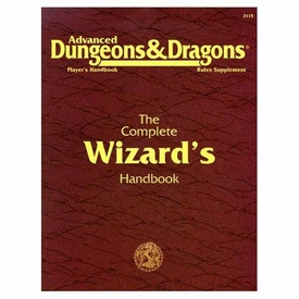 Advanced Dungeons & Dragons 2nd Edition Vintage Book Softcover The Complete Wizard's Handbook Rules Supplement 2115 [Used Condition: Fine]