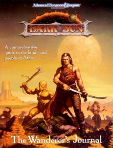 Advanced Dungeons & Dragons Vintage Book Softcover Dark Sun Wanderer's Journal [Used Condition: Good]