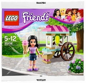LEGO Friends Set #30106 Emma's Ice Cream Stand [Bagged]