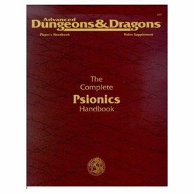 Advanced Dungeons & Dragons 2nd Edition Vintage Book Softcover The Complete Psionics Handbook Rules Supplement 2117 [Used Condition: Fine]