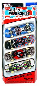 Tech Deck 96mm Skateboard 4-Pack Alien Workshop [A.V.E., Kalis, Archangel & Berra] Hot!