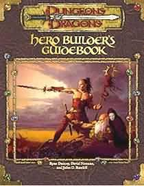 Dungeons & Dragons Book SoftcoverHero Builder's Guide [Used Condition: Near Mint]
