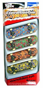 Tech Deck 96mm Skateboard 4-Pack ExpeditionOne [Lorenzo, Angelides, Pepper & Chaney]