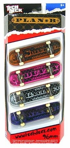 Tech Deck 96mm Skateboard 4-Pack Plan B [Ryan Sheckler, Duffy, Gallant & Wenning]