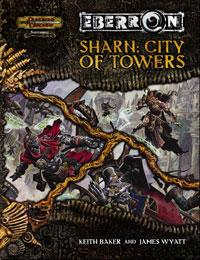 D&D Dungeons & Dragons Eberron Accessory Sharn: City of Towers
