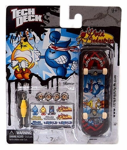 Tech Deck Single 96mm Skateboard World Industries [Bruce Will-Lee]