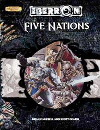 D&D Dungeons & Dragons Eberron Accessory Five Nations