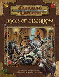 D&D Dungeons & Dragons Eberron Accessory Races of Eberron