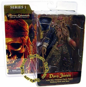 NECA Pirates of the Caribbean Dead Man's Chest Series 1 Action Figure Davy Jones Damaged Package, Mint Contents!