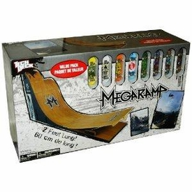 Tech Deck Exclusive MegaRamp Value Pack [Includes 8 RANDOM Fingerboards]