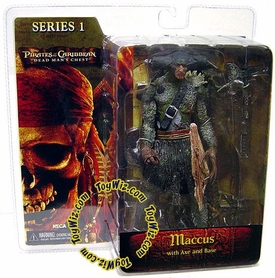 NECA Pirates of the Caribbean Dead Man's Chest Series 1 Action Figure Maccus