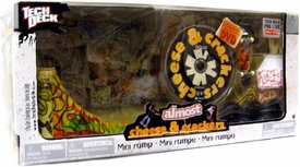 Tech Deck Mini Ramp Almost Cheese & Crackers [Includes DVD]
