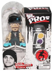 Tech Deck Pro Skater Action Figure with Skateboard Paul Rodriguez [Plan B]