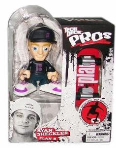 Tech Deck Pro Skater Action Figure with Skateboard Ryan Sheckler [Plan B]