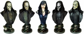 Gentle Giant Harry Potter and the Order of the Phoenix Death Eater Bust Ups 5-Pack
