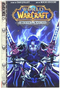 Blizzard World of Warcraft Death Knight Manga Style Comic