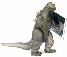 Godzilla Bandai 2001 Japanese 6 Inch Exclusive 1999 Card 2001 Sticker G-15 Smokey Clear Godzilla [Includes Hangtag]